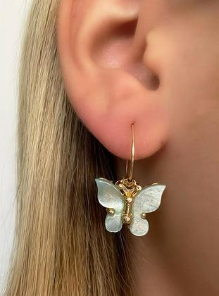 Sea-green - Earring