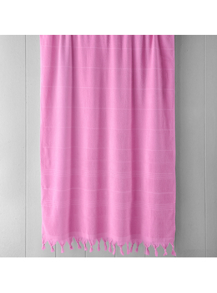 Pink - Cotton - Towel