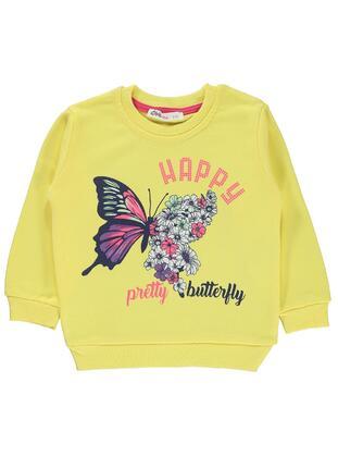 Yellow - Girls` Sweatshirt - Civil