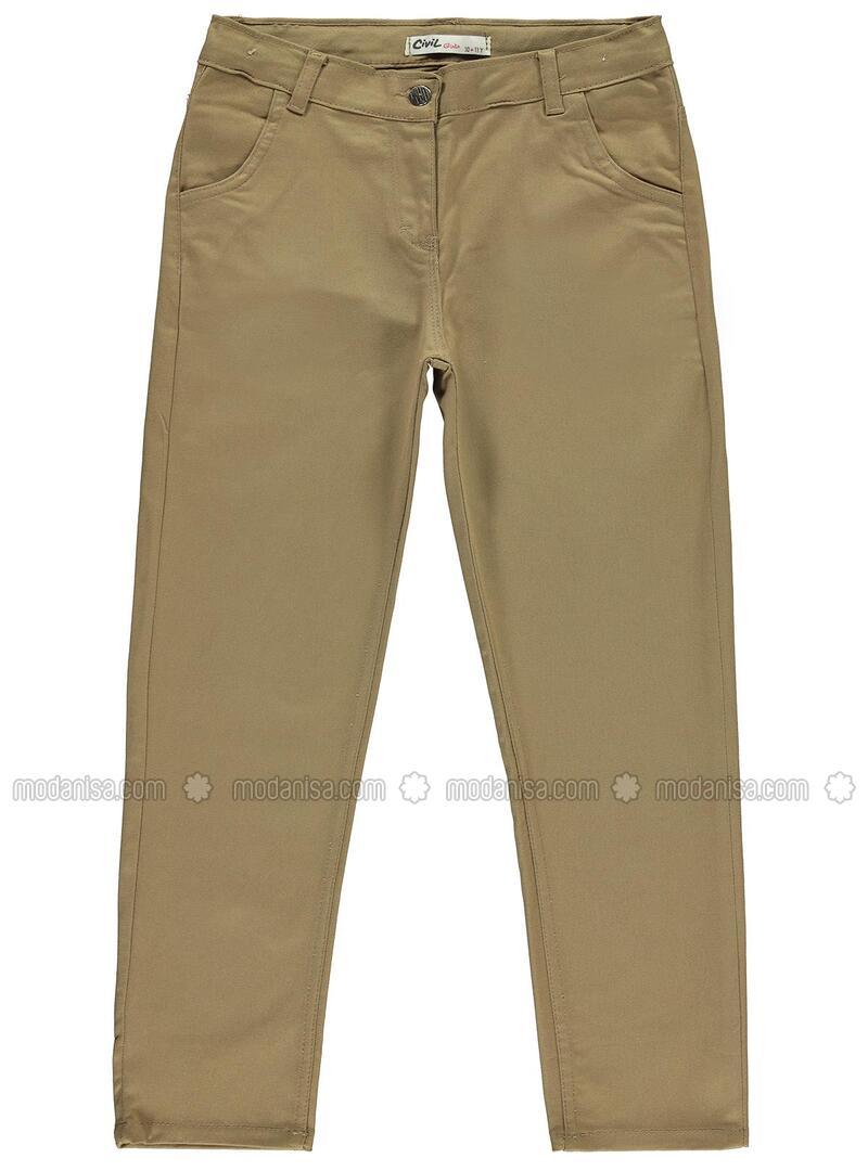 Yellow - Girls` Pants