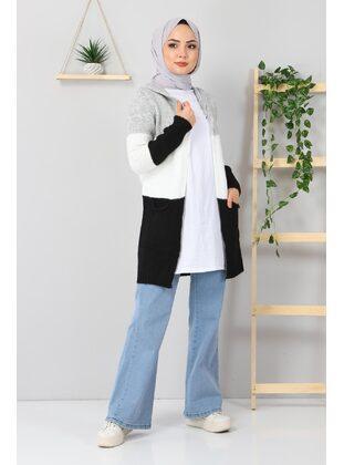 White - Knit Cardigans