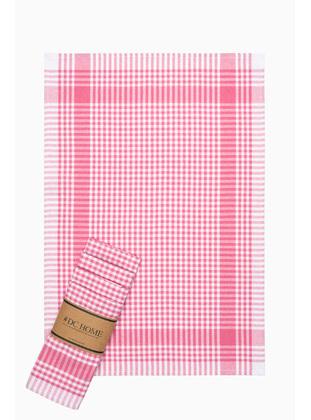 Pink - Cotton - Tea Towel