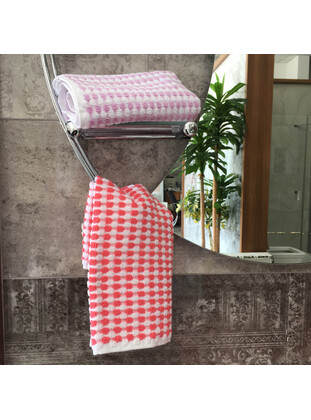 Coral - Cotton - Towel