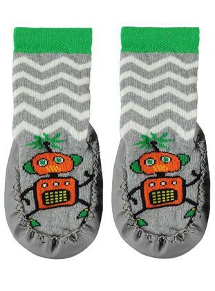 Gray - Baby Socks