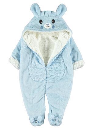 Blue - Baby Sleepsuit