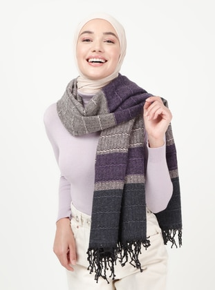 Purple - Shawl Wrap