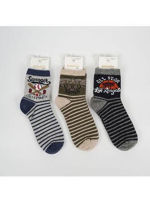 Multi - Multi - Boys' Socks