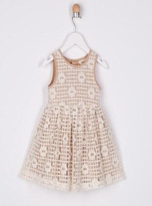 Ecru - Baby Dress