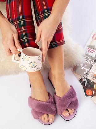 Sandal - Lilac - Home Shoes