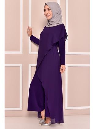 Purple - Evening Jumpsuits