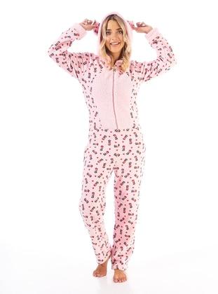 Pink - Multi - Pyjama Set