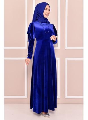 Saxe - Modest Evening Dress