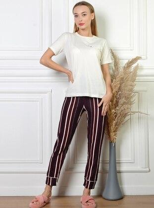 - Stripe - Pyjama Bottoms