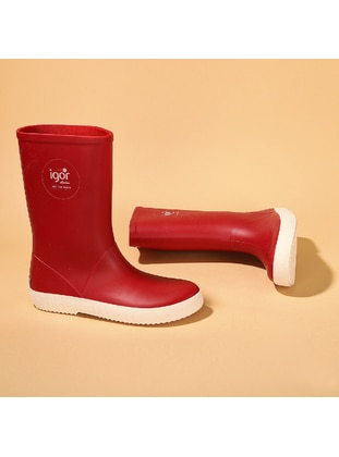 Boot - Red - Girls` Boots