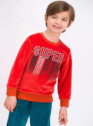 Terra Cotta - Boys` Tracksuit - Roly Poly