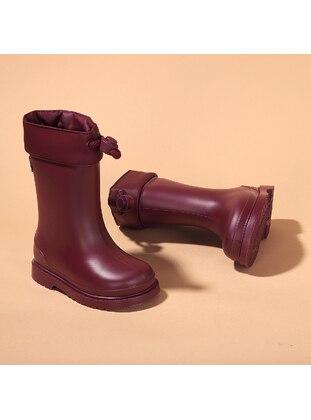 Boot - Maroon - Girls` Boots