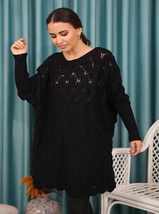 Black - Knit Tunics