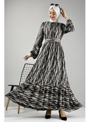 Gray - Modest Dress
