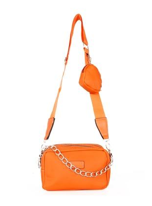 Orange - Satchel - Shoulder Bags