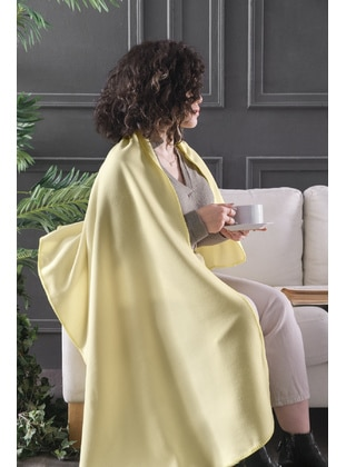 Yellow - Throw Blanket