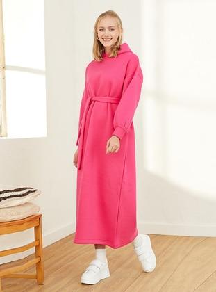 Pink - Modest Dress
