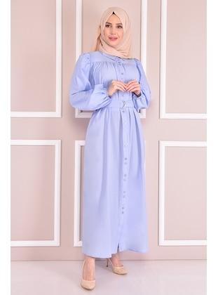 Baby Blue - Modest Dress
