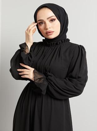 Neutral - Modest Evening Dress