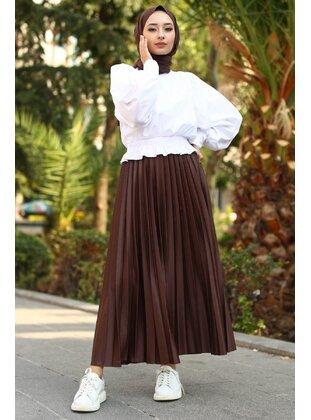 Brown - Skirt