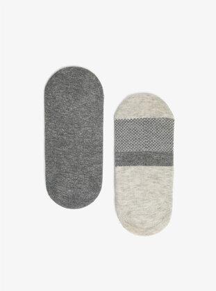 Pale Grey - Socks
