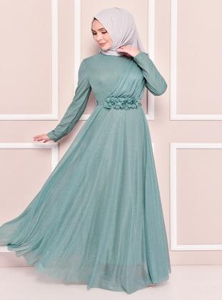Mint - Modest Evening Dress