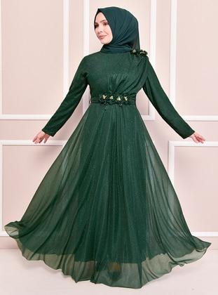 Emerald - Modest Evening Dress