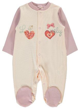 Salmon - Baby Sleepsuit