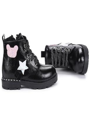 Black - Girls' Boots