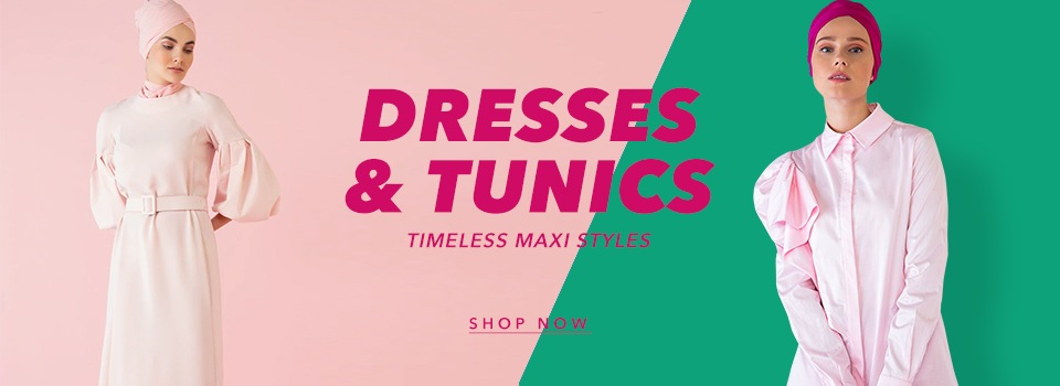 Z2 - Slider 3 Elbise Tunik - DW
