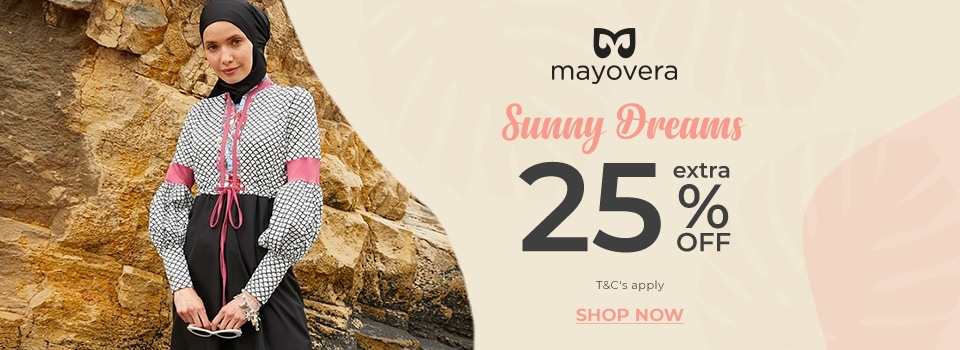 417-Z2- 25% Off Selected Mayovera